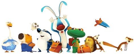 The cast of Lulu Vroumette