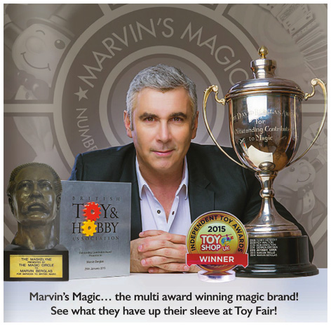 Marvin's Magic advert