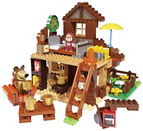 Masha and the Bear playhouse from Simba