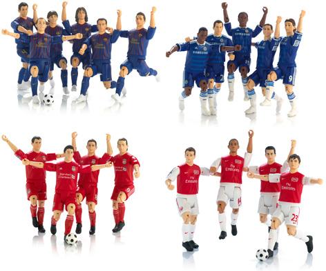 Match Stars - Barcelona, Chelsea, Liverpool, Arsenal