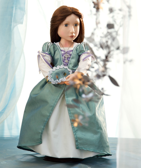 The Matilda Your Tudor Girl doll from A Girl For All Time