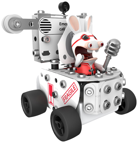 Meccano Rabbids Racing Toilet