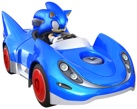 Meccno's Sonic and Speedstar toy