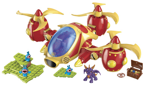 Skylanders toy from Mega Blocks