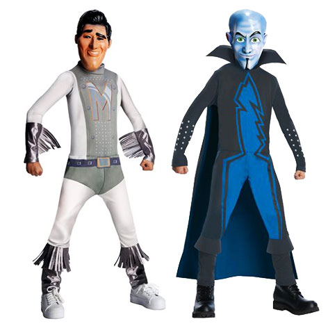 Action Figure toys of Megamind Characters