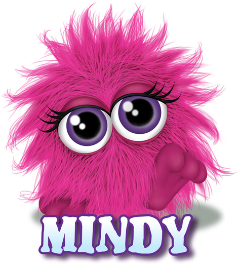 Mindy The Pink Fluffling Toy