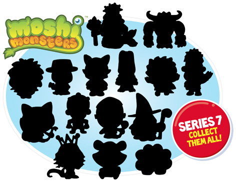 Moshi Monsters Series 7