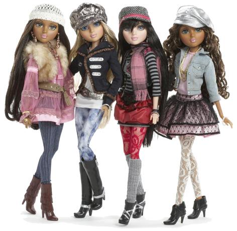 Moxie girlz dolls lexa sasha avery and sophina moxie girlz fashion dolls Bratz fashion look and style doll