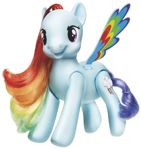 My Little Pony Flip & Whirl Rainbow Dash Pony