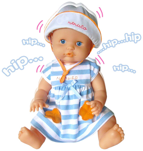 Nenuco Happy Hiccups doll