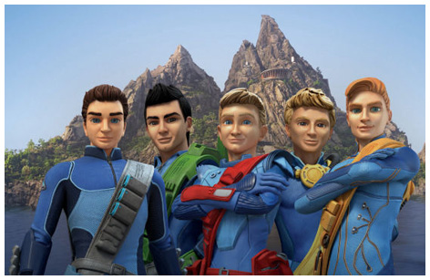 New-look Thunderbirds characters
