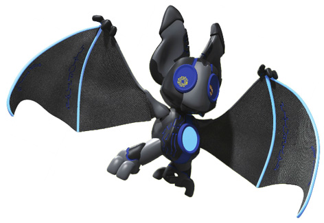 Nocto the bat from Vivid