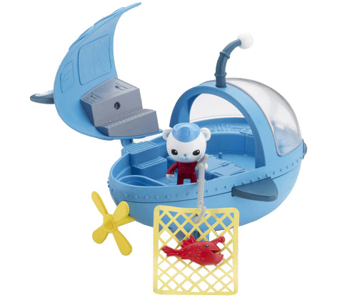 The GUP A Submarine Toy from The Octonauts