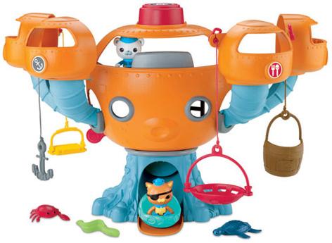 Octopod Playset from Mattel's Octonauts Toy Range