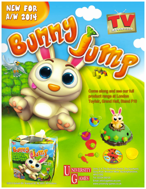 Bunny Jump advert