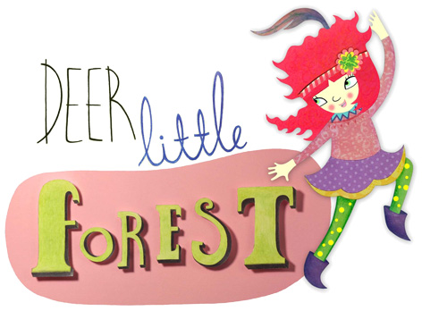 Official Deer Little Forest logo