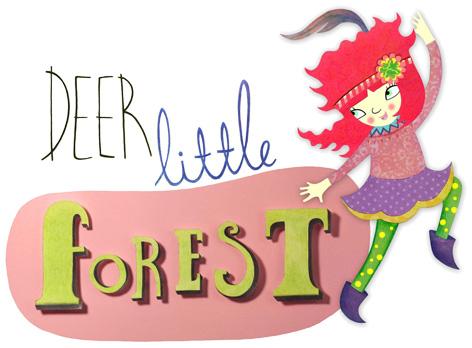 Official Deer Little Forest logo