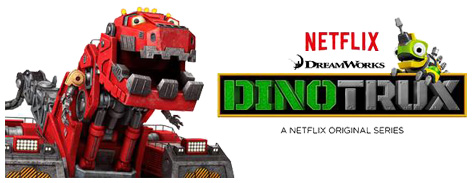 Officlal Dinotrux banner advert