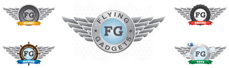 Official Flying Gadgets logo