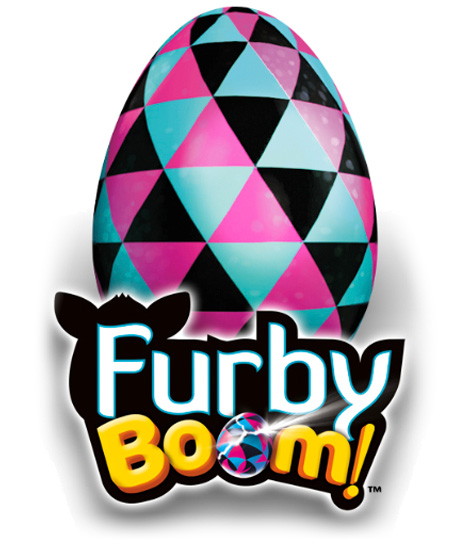 Official Furby Boom Logo
