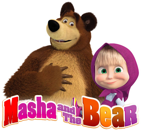 Official Masha and the Bear logo