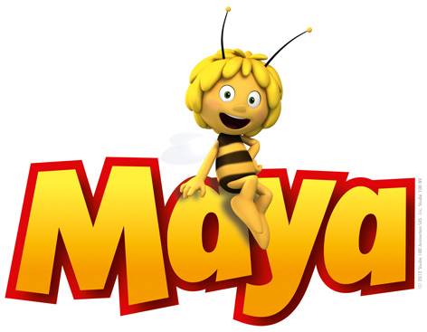 Official Maya The Bee Logo