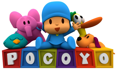 Official Pocoyo Logo