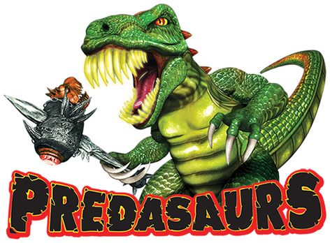 Official Predasaurs Logo