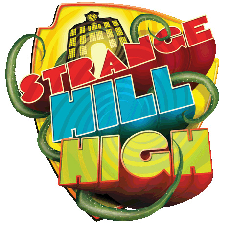 Official Strange Hill High logo