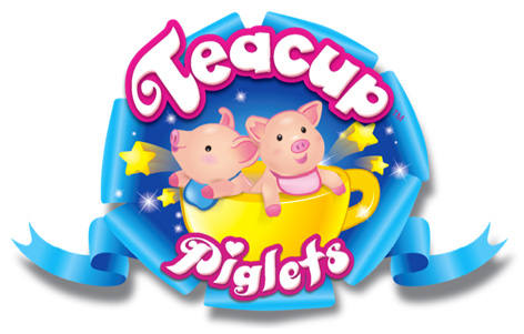 The official Teacup Piglets logo