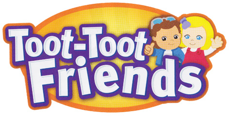 Official Toot-Toot Friends logo