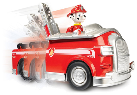 On-a-Roll Marshall Toy Truck