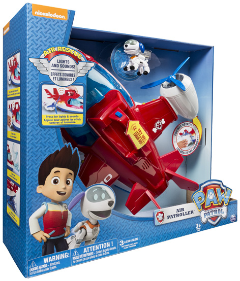 Paw Patrol Air Patroller Packaging