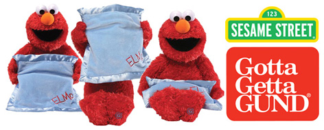 Peek A Boo Elmo from Enesco