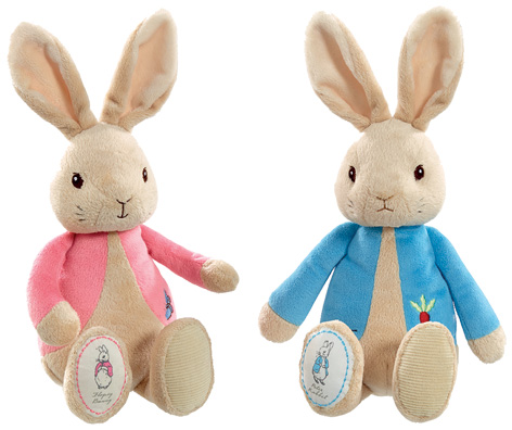 Flopsy and Peter Rabbit
