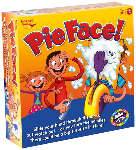 Pie Face Packaging