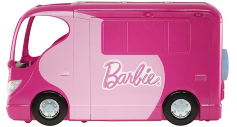 Exterior of Barbie Sisters' Go Camping Camper