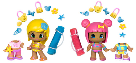 Pinypon Dolls from a Multi-Figure Pack