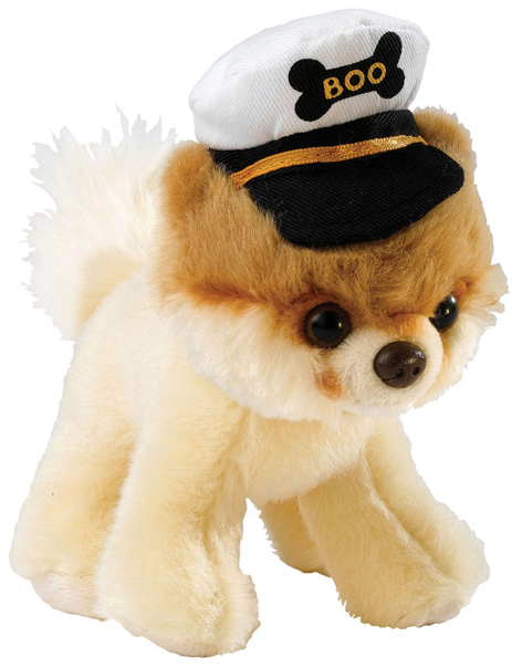Itty Bitty Boo with Captains Hat