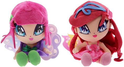Two of the Pop Pixie Dolls - Amore and Lockette