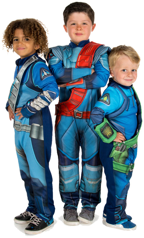 Pretend To Bee Thunderbirds Costumes