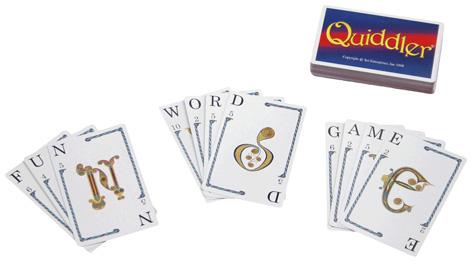 Quiddler game cards