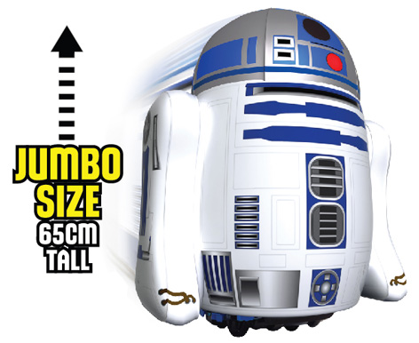 R2-D2 from Bladez Toyz - Radio Controlled Inflatable Pump & Play R2-D2