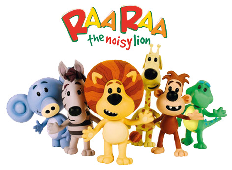 Raa Raa the Noisy Lion and Friends
