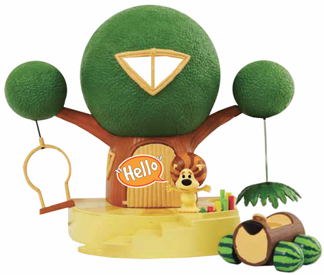 Raa Raa the Noisy Lion Playset from Tomy