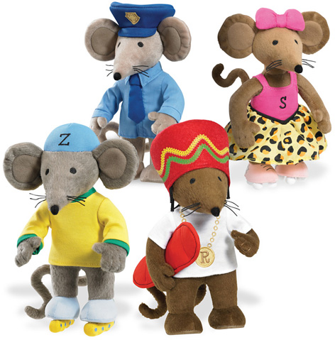 Rastamouse and Da Easy Crew Soft Toys
