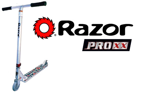 Razor Pro XX Scooter - The X, XX and XXX Pro Scooters from ...