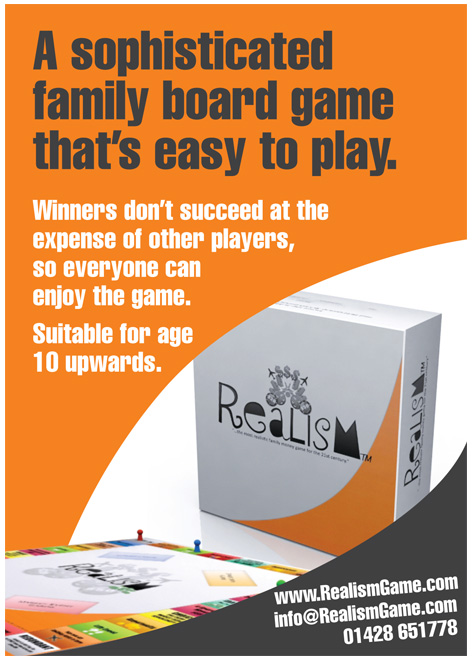 Realism Games advert