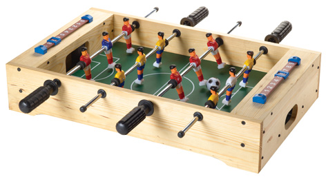 The Red Toolbox Soccer Table