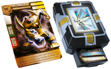 Redakai Trading Card and Animation Box